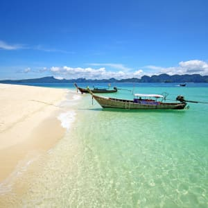 Dusit Thani Krabi Beach Resort: Krabi Longtail boat