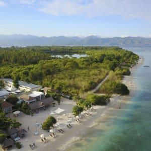 Mahamaya in Gili: MAHAMAYA | Aerial View