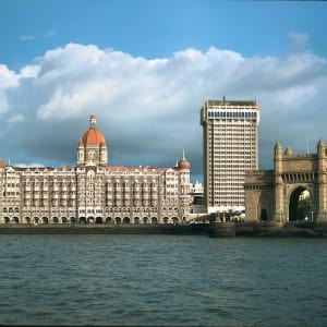The Taj Mahal Palace in Mumbai: Mumbai Taj Mahal Palace with Gateway of India