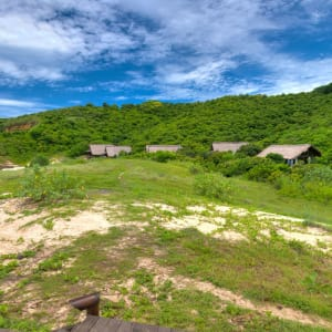 Jeeva Beloam Beach Camp in Lombok: Panorama