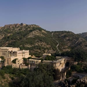 Samode Palace in Jaipur: Panorama View
