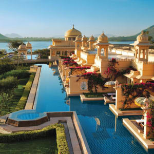 The Oberoi Udaivilas à Udaipur: Semi-Private Pools