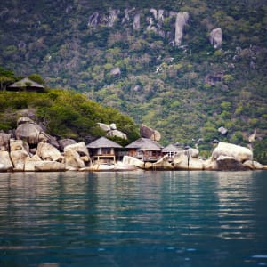 Six Senses Ninh Van Bay in Nha Trang: Six Senses Ninh Van Bay | from Distance