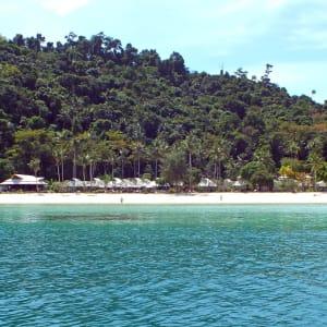 D'île en île au sud de la Thaïlande de Ko Lanta: location: Thanya Resort
