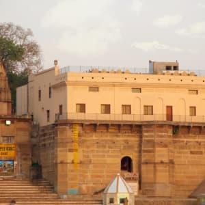 Suryauday Haveli à Varanasi: View from Ganges