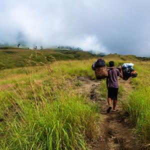 Rinjani Trekking ab Lombok: Lombok Mount Rinjani - Porter