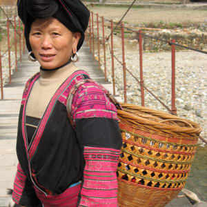 China aktiv erleben ab Peking: Longsheng: Native woman