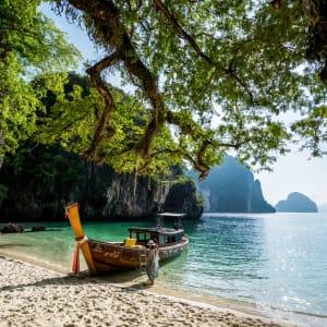 Six Senses Yao Noi in Ko Yao: Longtail boat island hopping