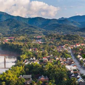 Découverte active de Luang Prabang: Luang Prabang from Viewpoint