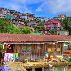 Nord-Luzon Rundreise ab Manila: Luzon Baguio colourful town