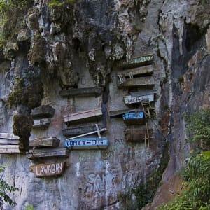 Circuit au nord de Luzon de Manille: Luzon Sagada hanging coffins