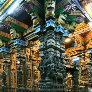 Höhepunkte Südindiens ab Chennai: Madurai: Menakshi Temple
