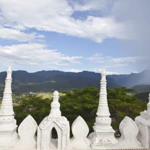 Mietwagenrundreise Mae Hong Son ab Chiang Mai: Mae Hong Son: Wat Prathat