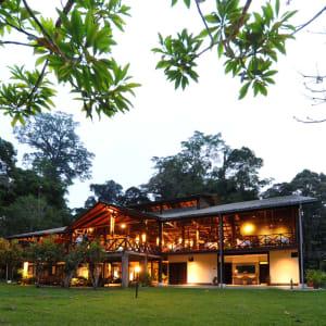 Borneo Wildlife / Tabin Wildlife Reserve ab Kota Kinabalu: Main lodge