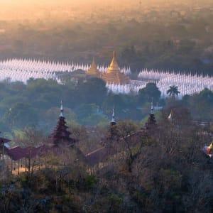 Myanmar - Land der Tempel und Pagoden ab Mandalay: Mandalay Hill