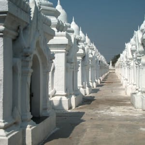 Au pays des temples et des pagodes de Yangon: Mandalay Kuthodaw Pagoda