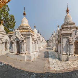 Faszination Myanmar - Ein Land im Wandel ab Yangon: Mandalay Kuthodaw Pagoda