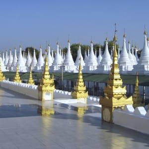 Le pays doré de Yangon: Mandalay Mingun