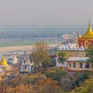 Myanmar - Land der Tempel und Pagoden ab Mandalay: Mandalay Sagaing Hill