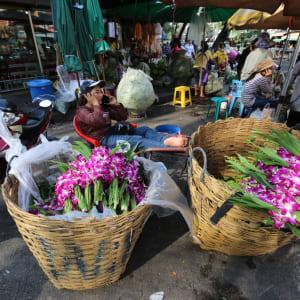 Chiang Mai mit dem Velo - Halber Tag: Market