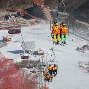 Grand circuit en Corée du Nord de Pyongyang: Masikryong Ski Resort