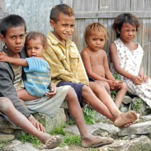 Unbekanntes Paradies Timor-Leste ab Dili: Maubisse: Kids