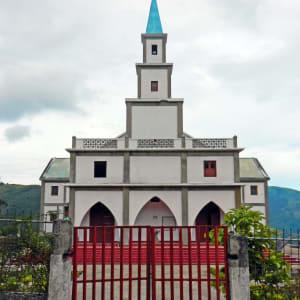 Unbekanntes Paradies Timor-Leste ab Dili: Maubisse: Sao Mateus church