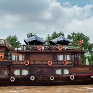 Mekong Delta Fluss-Kreuzfahrten mit «Mekong Eyes» ab Saigon: ME overview 2