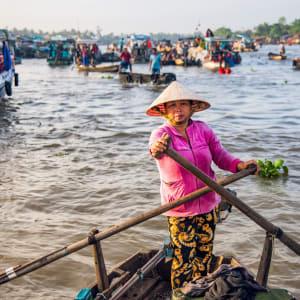 Faszinierendes Mekong Delta - ab/bis Saigon: Mekong Delta Floating Market