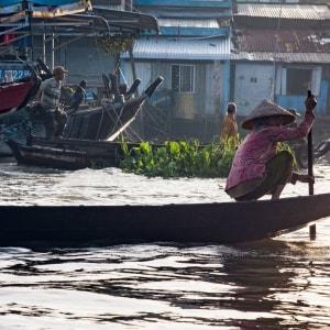 Vietnam Erlebnisreise - Von Hanoi zum Mekong Delta: Mekong Delta Floating Market