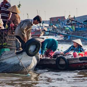 Glanzlichter Vietnam - von Saigon nach Hanoi: Mekong Delta Floating Market