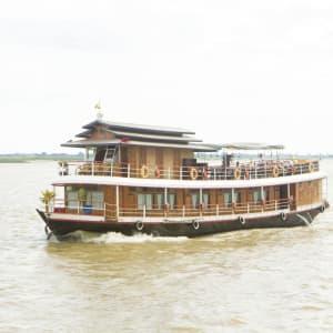 Flussfahrt auf dem mystischen Irrawaddy ab Bhamo: Metta Cruises
