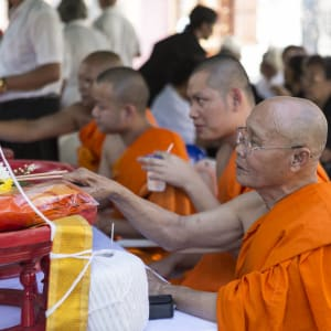 Glanzlichter Thailands ab Bangkok: Monks