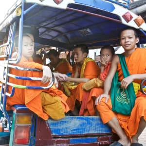 Laos Intensiv ab Vientiane: Monks in Luang Prabang Laos