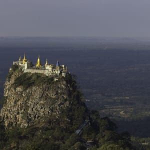 Faszination Myanmar - Ein Land im Wandel ab Yangon: Mount Popa