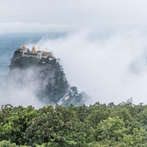 Au pays des temples et des pagodes de Yangon: Mount Popa