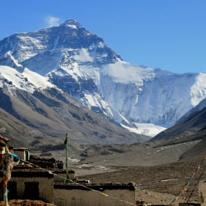 Die Magie des Tibets - Basis & Mt. Everest & Tsetang ab Lhasa: Mt. Everest with Rongpu Monastery