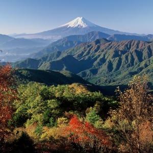 Mt. Fuji Trekking (Nebensaison) ab Tokio: Mt: Fuji: spectacular view
