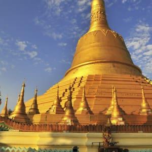 Fascination du sud du Myanmar de Yangon: Myanmar Bago Shwemawdaw Pagoda