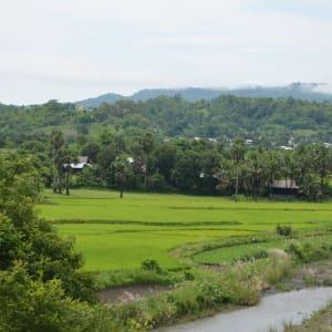 Excursion dans les montagnes de Chin de Bagan: Myanmar Chin State