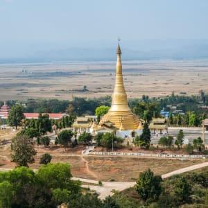 Kayah – un voyage dans un monde secret de Lac Inle: Myanmar Kayah Loikaw Pagoda