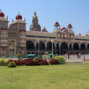 Le sud diversifié de l'Inde de Kochi: Mysore Palace