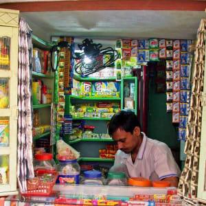 Trésors culturels du Karnataka de Bengaluru: Mysore: Snack shop