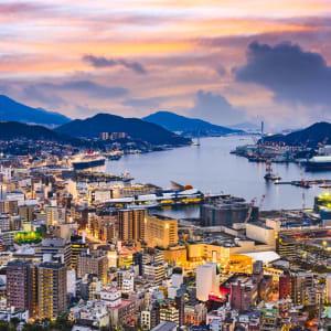 Les hauts lieux du Japon avec prolongation de Tokyo: Nagasaki at dusk