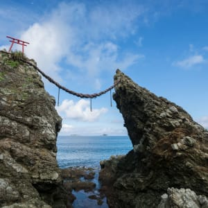 Circuit en groupe «Fuji» de Kyoto: Nagasaki: Married couple rocks