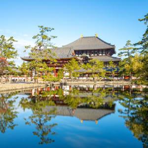 Les hauts lieux du Japon avec prolongation de Tokyo: Nara Great Buddha Hall of Todaiji