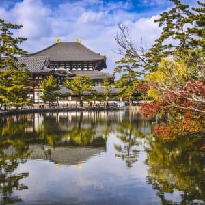 Contrastes du Japon de Tokyo: Nara Todaiji Temple