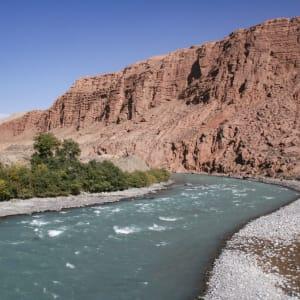 Sur les traces de Marco Polo le long de la route de la Soie de Pékin: Naryn