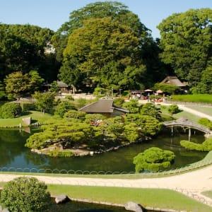 Entdeckungen im Westen Japans ab Kyoto: Okayama: Korakuen Garden