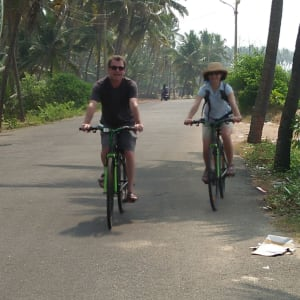 Velotour durch Kerala ab Kovalam: On the Road again